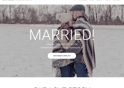 ENGAGEMENT | WEBSITE DESIGN