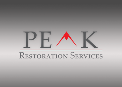 PEAK RESTORATION SERVICES | LOGO DESIGN