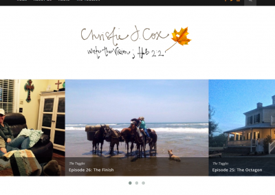 CHRISTIE COX | WEBSITE & LOGO DESIGN
