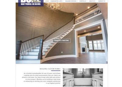 DUKE HOMES | WEBSITE REDESIGN